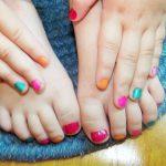 Combo pedicure and manicure kids