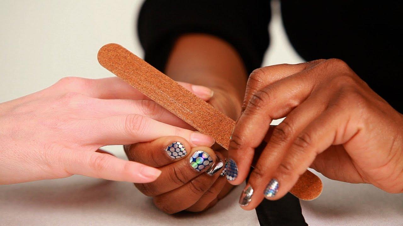 Nails cut