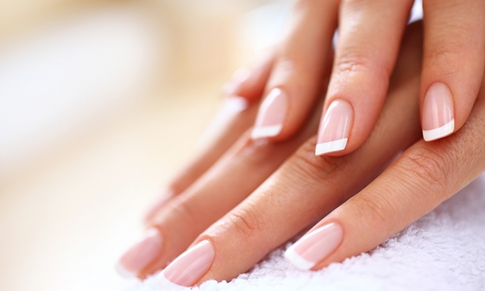 Shellac Manicure with French